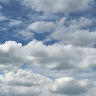 Auf Wolke 7 schweben